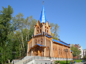 St. Mary's Lutheran Church in Tomsk